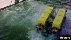 Sebuah drone bawah air milik Angkatan Laut AS (foto: ilustrasi).