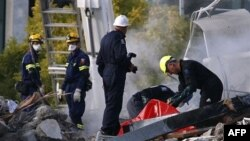 Spasilačka nastojanja nakon zemljotresa na Novom Zelandu