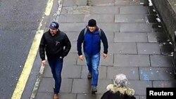 Британська поліція каже, що це фото підозрюваних у Солсбері 04/03/18