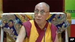 西藏精神領袖達賴喇嘛。(資料圖片)