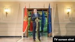 Crnogorski premijer Igor Lukšić