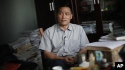 中國維權律師浦志強。