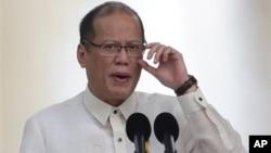 Presiden Filipina Benigno Aquino Senin (19/50 menuduh Beijing telah melanggar perjanjian Laut China Selatan (foto: dok).