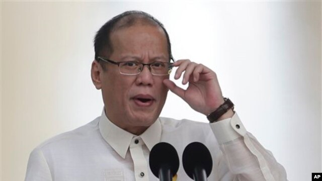 Tổng thống Philippines Benigno Aquino.