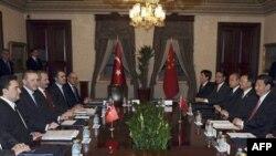 Çinin vitse-prezidenti Tsu Jinpinq Türkiyədədir