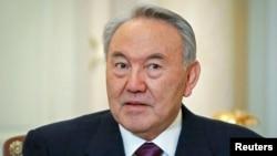 FILE - Kazakhstan's President Nursultan Nazarbayev
