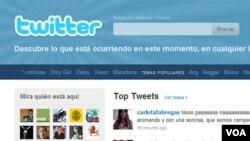 La página principal de Twitter contiene todos los recursos necesarios para comenzar, así como una lista de los temas más hablados del día.