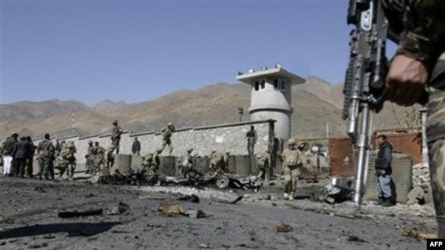 Panjshirdagi AQSh bazasiga hujum, 15-oktabr 2011