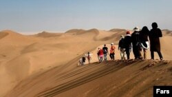 tourism in Iran's desert, گردشگری در کویر مرنجاب ایران