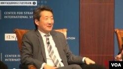 華盛頓智庫戰略和國際研究中心北韓問題主任維克多查。