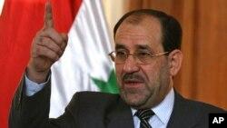 Thủ tướng Iraq Nouri al-Maliki.