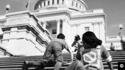 მოძრაობა შშმ პირთა უფლებებისთვის. ვაშინგტნი, 1960-იანი წლები
