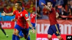 Tây Ban Nha mong tìm lại uy lực trong trận đấu với Chile hôm nay.