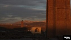 آثار تاریخی غزنی که در معرض خطر نابودی قرار دارد