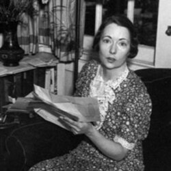 A photo of Margaret Mitchell from 1937