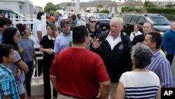 Predsednik Tramp tokom današnje posete američkoj teritoriji Portoriko