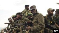 콩고민주공화국 동부 내 반군세력(자료사진)