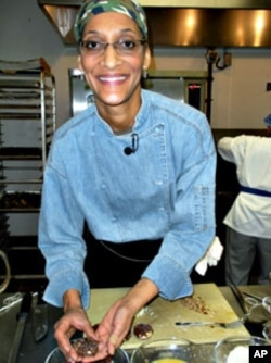 """I bet there's going to be more American dishes that will be inspired by chocolate,"" Carla Hall, professional chef"