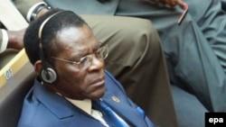 Le Président de la Guinée équatoriale Teodoro Obiang Nguema Mbasogo lors du 26e sommet de l'Union africaine à Addis-Abeba, Ethiopie, 31 janvier 2016. epa / SOLAN KOLLI