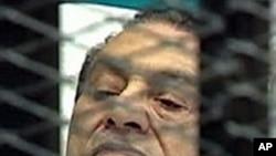L'ancien président égyptien Hosni Moubarak (AP)