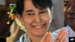 缅甸全国民主联盟领导人昂山素季