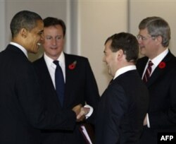 AQSh rahbari Barak Obama Rossiyaga hamkor davlat sifatida qarashini, prezident Dmitriy Medvedev bilan yaqin aloqada ekanini aytadi