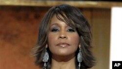 Whitney Houston en 2007 au Warner Theatre in Washington