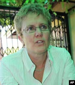 Liesl Louw-Vaudran of South Africa's Institute for Security Studies