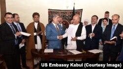 افغان چارواکي وايي د ملي یووالي حکومت ستنې ټینګې دي