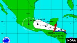 Badai tropis Earl diperkirakan akan menguat sebelum melanda Belize (foto: ilustrasi).