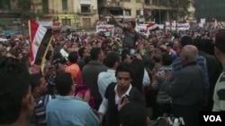 埃及人民努力保護他們的言論自由權利