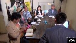 台灣公民團體領袖討論蔡英文新政策
