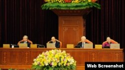 Tại một hội nghị của Đảng Cộng Sản Việt Nam. Hình minh họa. Photo Nhan dan.