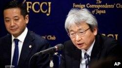 Los abogados y Ghosn presentaron sus argumentos contra la detención en una vista el martes. En esta foto aparece el abogado de Carlos Ghosn, Motonari Otsuru, a la derecha.
