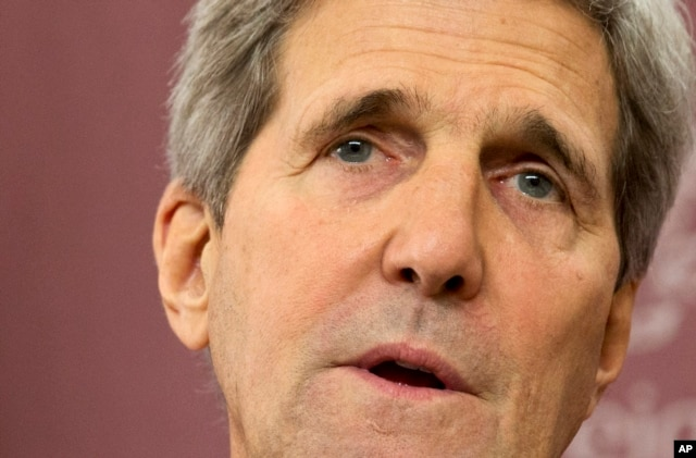 FILE: U.S. Secretary of State John Kerry has called for Thailand to restore democracy