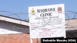 Bebehlatshwa ngobunengi abantu eMaqhawe Clinic eseNkulumane ngoLwesibili.