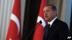 Türkiyə prezidenti Rəcəp Tayyib Ərdoğan