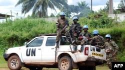 Para anggota pasukan perdamaian PBB di Kongo (foto: dok).