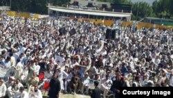 کبل میں پی ٹی ایم کا جلسہ