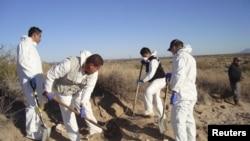 Son permanentes las búsquedas en fosas comunes en territorios de violencia de México.