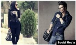 دو مدل ایرانی ساکن دوبی