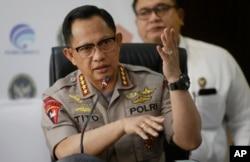 Kepala Kepolisian Republik Indonesia Jenderal Tito Karnavian di Jakarta, 24 September 2019.