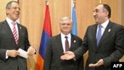 Moskvada Rusiya, Azərbaycan və Ermənistan xarici işlər nazirlərinin işgüzar görüşü keçirilib