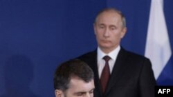 Milliarder Mixail Proxorov, Bosh vazir Vladimir Putin