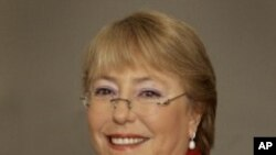 Michelle Bachelet, executive director of U.N. Women (file photo)
