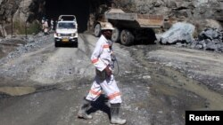La mine d'or Freda Rebecca dans la ville de Bindura le 7 février 2015.