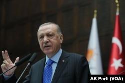 Presiden Turki Erdogan. (Foto: VOA/AK Parti)