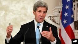 El secretario de Estado, John Kerry, piensa que los golpes contra el grupo Estado islámico han sido devastadores.