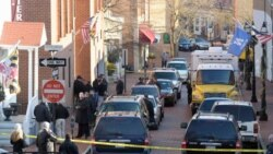 خیابان فرانسیس، در شهر آناپولیس ایالت مریلند توسط ماموران بسته شده است. آنان مشغول تحقیق در مورد شعله ور شدن دو بسته مشکوک در دو ساختمان اداری این ایالت هستند. ۶ژانویه ۲۰۱۱
