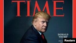 《时代》周刊却将川普列为2016年度风云人物